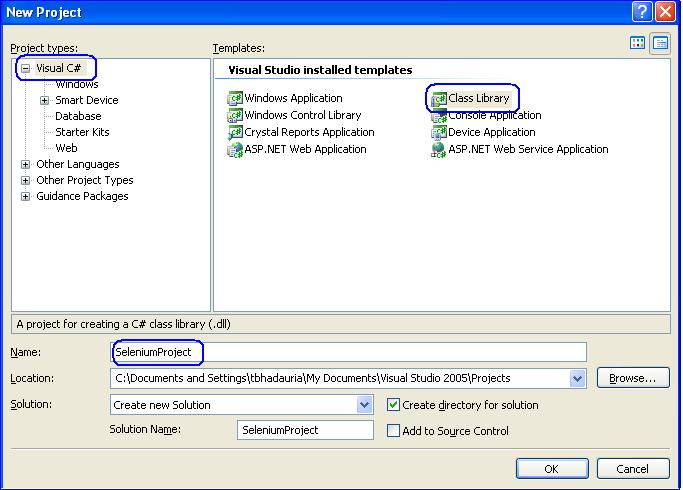 NET client driver configuration — Selenium Documentation